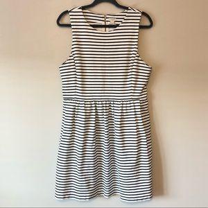 J. Crew Striped Daybreak Dress